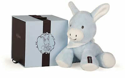 NEW Kaloo REGLISS DONKEY TEETHER /& RATTLE BLUE Baby Soft Toys Activities Gift