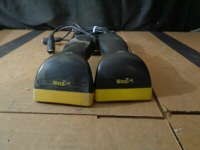 Lot Of 2 Wasp N1181 Consumer Control Device Ccd Scanner