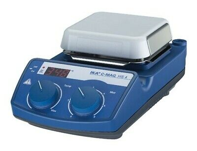 IKA C-MAG HS 4 Digital Hotplate Stirrer 5L cap, 550°C, 15000 RPM 4240201