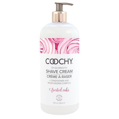 COOCHY Shave Cream - Frosted Cake - 32 fl oz (946 ml)
