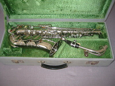 "Beautiful old Alto saxophone ""Classic Super Amati Kraslice ""105241II"" Czechoslov"