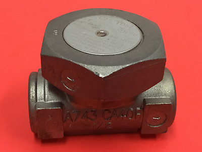 "Spirax/Sarco - P/N: TD52 - Thermodynamic Steam Trap - 1/2"" NPT"