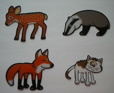 4 Animal Bookmarks Gifts/Fillers,Jokes,Hats & Snaps To Make Ur Own Xmas Crackers