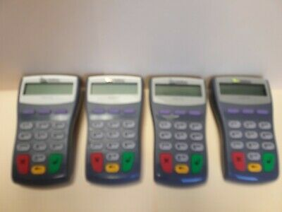Lot Of 4 Verifone Pinpad 1000Se **No Power Supply Included