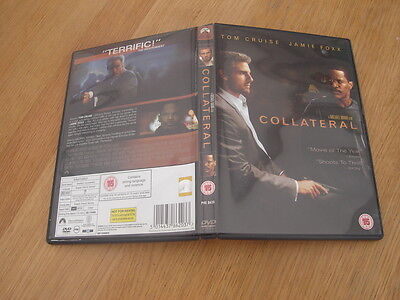 Collateral DVD 2004 Tom Cruise Jamie Foxx 5014437862037