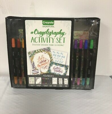Calligraphy Set Strater Kit Hand Lettering Tutorials Practice Gift Tags