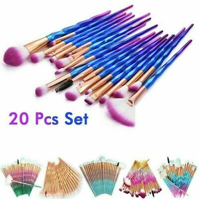 Cosmetic Makeup Brushes 20pcs Professional Foundation Eyeshadow Lip Face Brushes