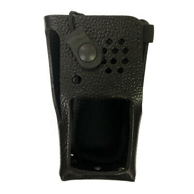 Leather Belt Loop Case for Motorola XPR 3500 Two Way Radios
