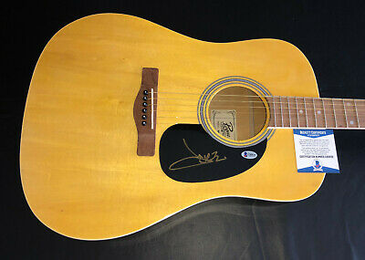 Jake Owen Signed Auto Acoustic Rougue Full Size Guitar Beckett Bas Coa