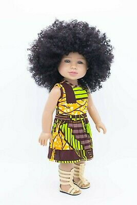 Beautiful 18 inch Brains and Beauty Doll speaks 20 empowering phrases
