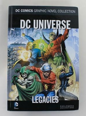 DC COMICS EagleMoss Graphic Novel Collection DC Universe Legacies Hardback Book