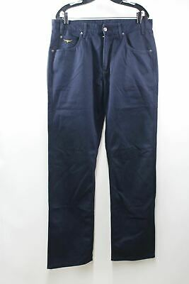 R M Williams TJ881 Linesman Drill Jeans Mens in Navy