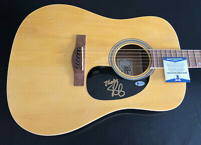 Randy Houser Signed Auto Acoustic Rouge Full Size Guitar Beckett Bas Coa
