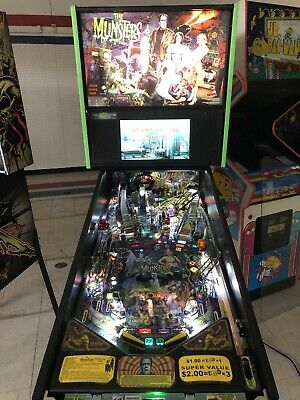STERN THE MUNSTERS Premium Pinball Machine - $7,499 00