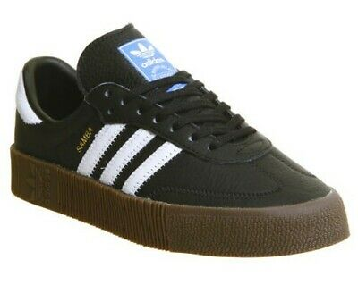 Adidas Rose B28156 Black Casual Sneakers Samba Shoes OXnw80Pk