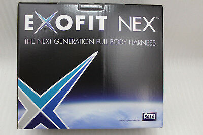 Exofit Nex Full Body Harness Fall Protection Size L 1113902 New