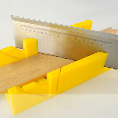 Multifunctional Miter Saw Box Cabinet Saw Guide Woodworking Mitre Box 90° 45°