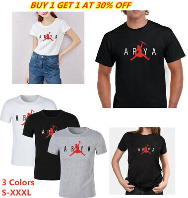 Not Today Arya Stark T-Shirt Game of Thrones Men T-Shirt Women Tops Summer T
