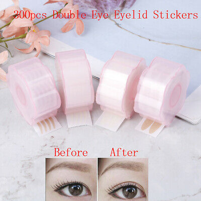 600Pcs Invisible Lace Eye Lift Strip Double Eyelid Tape Adhesive Sticker Makeup.