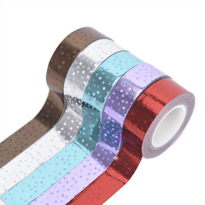 Rhythmic Gymnastics Decoration Holographic RG Prismatic Glitter Tape HoopsStick.