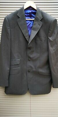 TED BAKER ENDURANCE 40 R CHEST SUIT JACKET BLAZER PIN STRIPE free 24hr UK Post