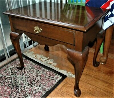 Pennsylvania House Queen Anne style Limited Edition Wood End Table