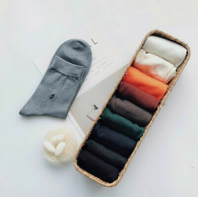 Men's Pure Silk Ankle Socks Breathable Summer Formal Work Dress Cosy Soft Solid