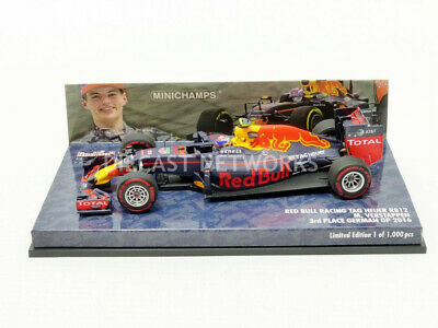 Minichamps - 1/43 - Red Bull Tag Heuer Rb12 - Allemagne Gp 2016 - 417160833