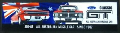 Ford Falcon 351 Gt Xw Xy Rubber Backed Bar Runner V8 Supercars