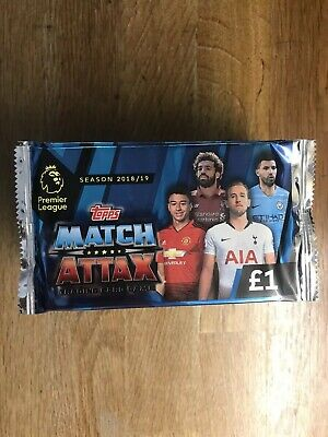 Topps Match Attax Premier League 2018/19 Trading Cards 20 Packs Plus 2 X Tins