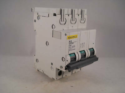 Square D MCB 50 Amp Triple Pole 3 Phase Breaker Type C 50A Loadcentre KQ10C350