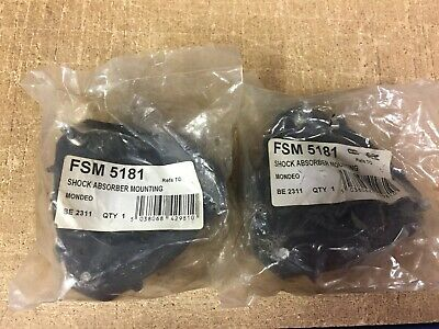 Ford Mondeo Mk3 Pair Of New Front Strut Top Mountings