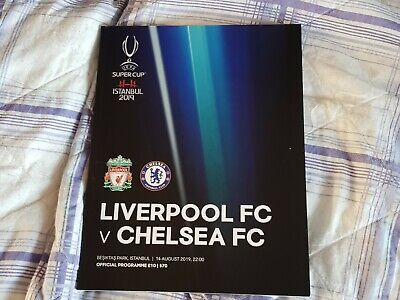 Liverpool V Chelsea UEFA Super Cup 14th August 2019
