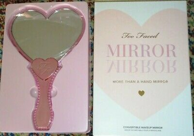 Too Faced Hand Mirror Convertible Makeup Cuore Heart