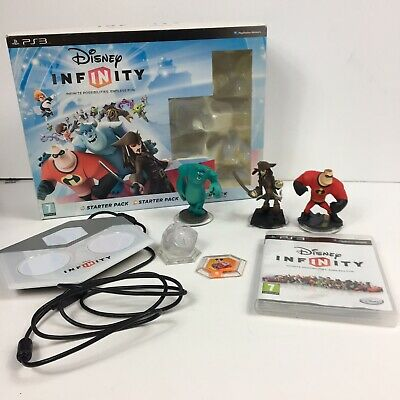 Disney Infinity Starter Pack For PS3 Boxed Good Condition # A