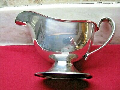 Lovely Silver Plate Sauce Boat By Forbes Silver Co. Circa 1894