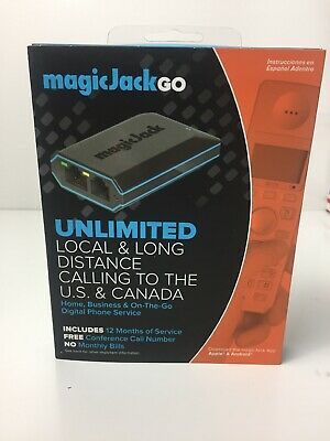 Magicjack Go 2017 Version Digital Phone Service New Free Ship