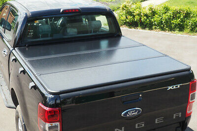 Ford Ranger Hard Folding Cover Aluminium Hard Tri Fold Cover - Pro Fold T6,T7,T8