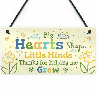 Teacher Gifts Teaching Assistant Plaque Thank You Pre School Nursery Gift Sign
