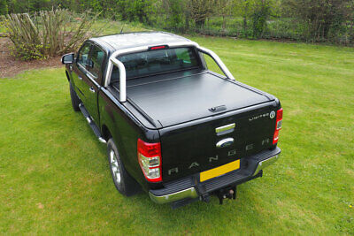 Ford Ranger Roll Top Roller Shutter Pro Roll Tonneau Cover 2012-2020 Double Cab