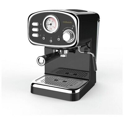 Cookworks CM5013B-GS Espresso Coffee Machine With Steamer With Instructions