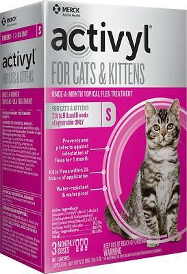Activyl Spot-on for Small Cats & Kittens