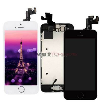 AAA+For iPhone 5S LCD Display Screen Digitizer Replacement + Home Button+Camera