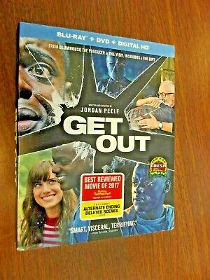 Get Out [New Blu-ray] With DVD, HD Digital Copy, 2 Pack, Digitally Mastered