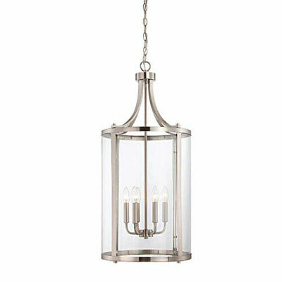 251 First Selby Brushed Nickel and Pewter Six-Light Pendant - 860999-2088096-251