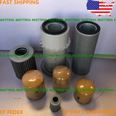 Fits For Caterpillar Cat E70B Engine Filter Air ,Fuel ,Oil ,Hydraulic  Service