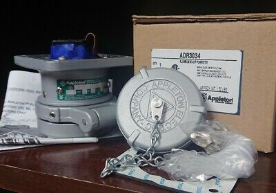 Adr3034   Appleton Powertite 30A 3 Wire 4 Pole Receptacle New