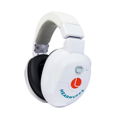 Lucid Audio HearMuffs Baby Hearing Protection Over-The-Ear Sound Protection