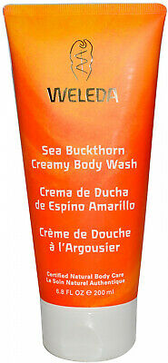 Weleda, Sea Buckthorn Creamy Body Wash, 6.8 fl oz (200 ml)