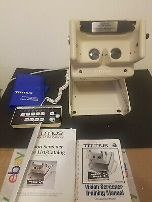 Titmus 2a Vision Screener with Keypad controller - Great Working Condition